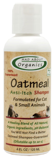 Mad About Organics Oatmeal  Cat Shampoo