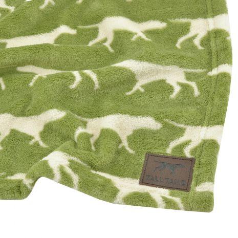 Tall Tails Sage Icon Fleece Dog Blanket, 30 x 40