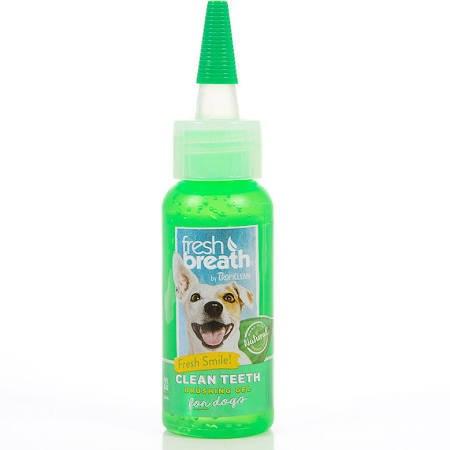 Tropiclean Fresh Breath Clean Teeth Oral Care Dog Brushing Gel