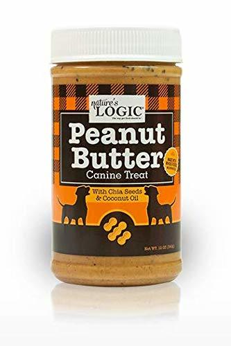 Nature's Logic Peanut Butter Dog Treat, 12-oz