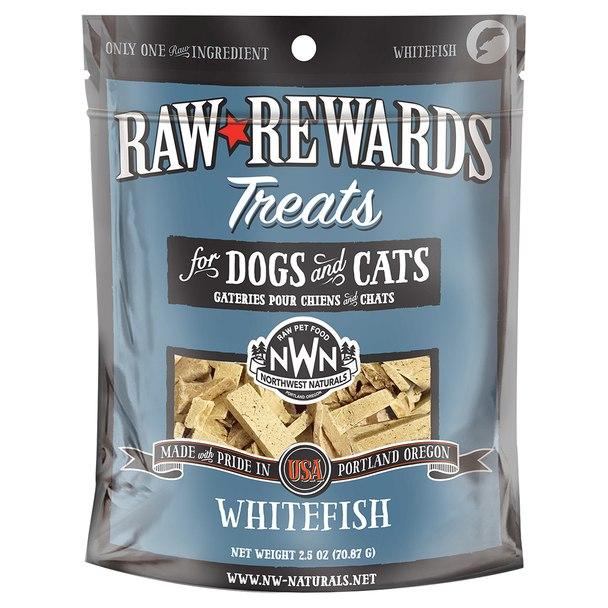Northwest Naturals Raw Rewards Whitefish Freeze Dried Dog & Cat Treats