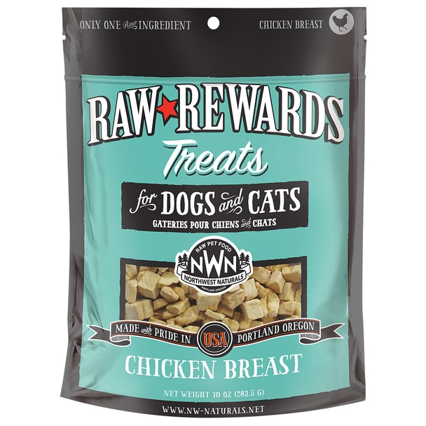 Northwest Naturals Raw Rewards Chicken Breast Freeze Dried Dog & Cat Treats