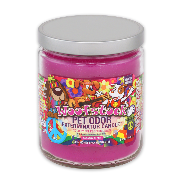 Pet Odor Exterminator Candle - Woofstock