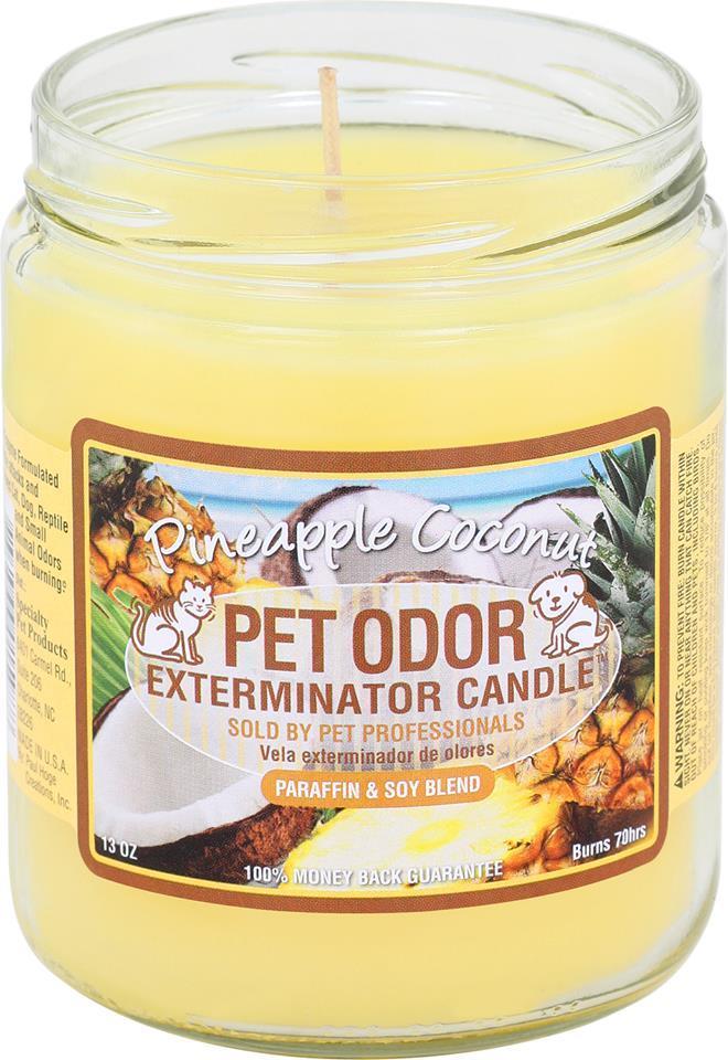 Pet Odor Exterminator Candle - Pineapple Coconut