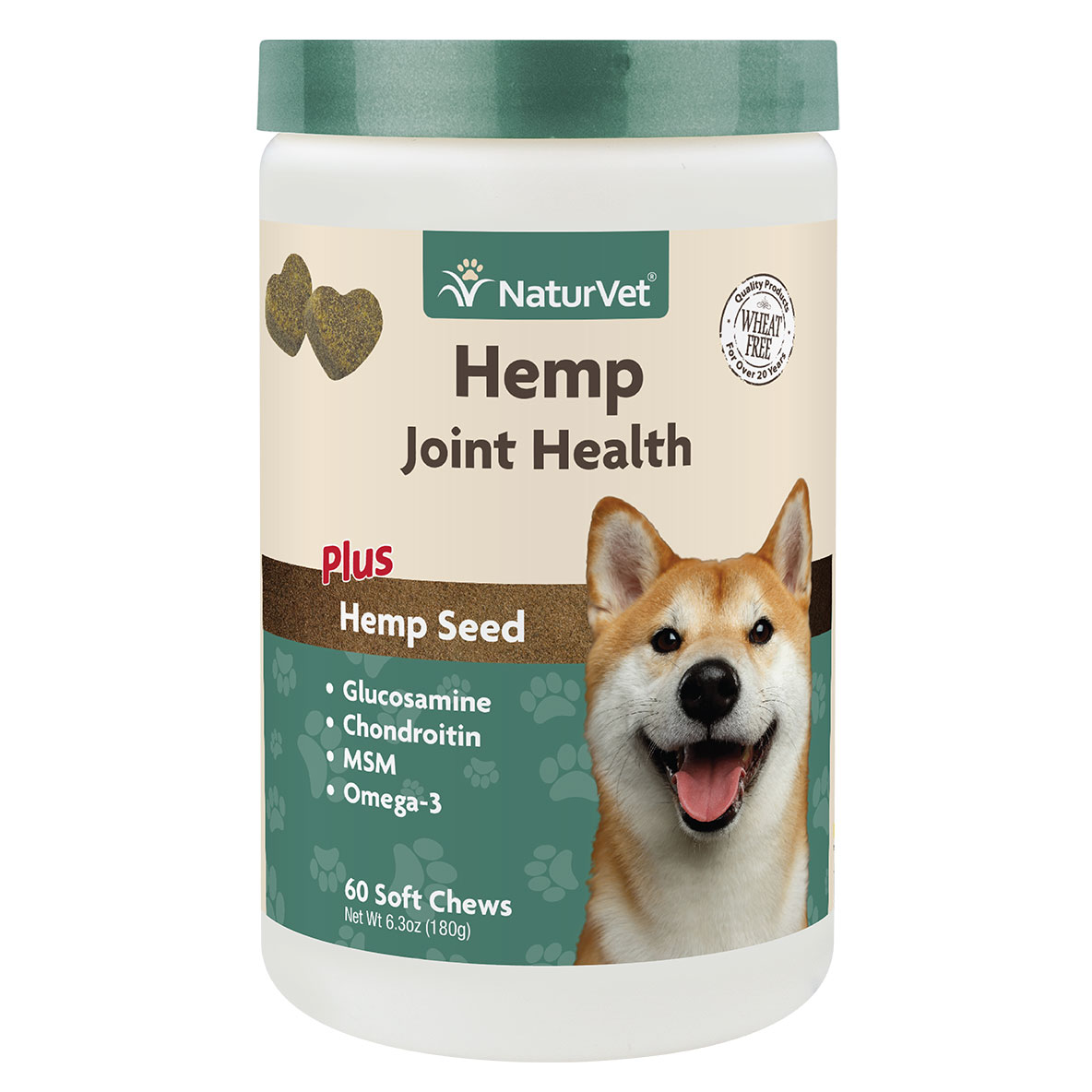 Naturvet Joint Health Dog Chew, 60-ct