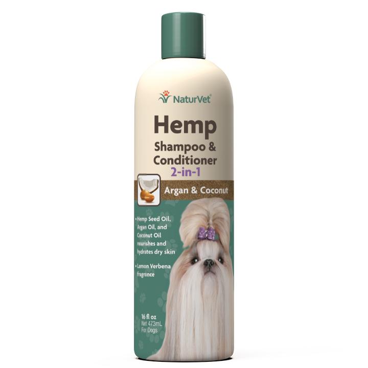 Naturvet Dog 2-In-1 Shampoo & Conditioner