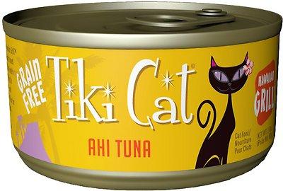 Tiki Cat Hawaiian Grill Ahi Tuna Grain-Free Canned Cat Food, 2.8-oz, case of 12