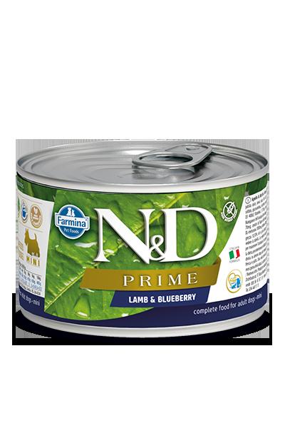 Farmina Natural & Delicious Prime Lamb & Blueberry Wet Dog Food, 4.9-oz