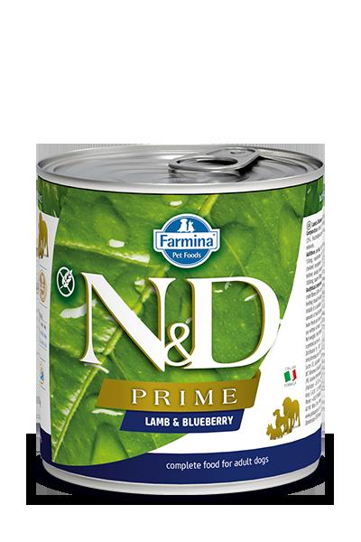 Farmina Natural & Delicious Prime Lamb & Blueberry Wet Dog Food, 10-oz