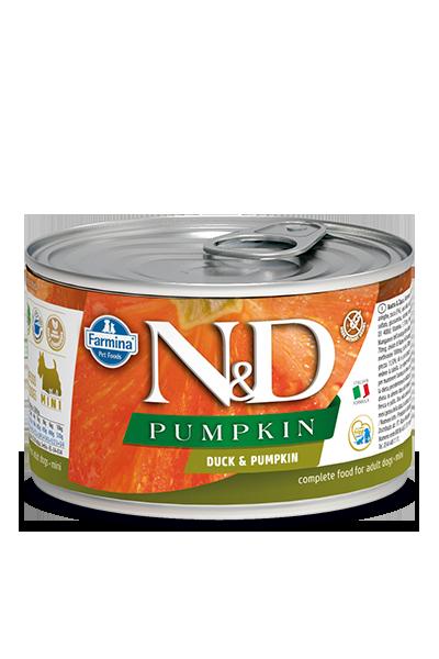 Farmina Natural & Delicious Pumpkin, Duck & Cantaloupe Wet Dog Food, 4.9-oz