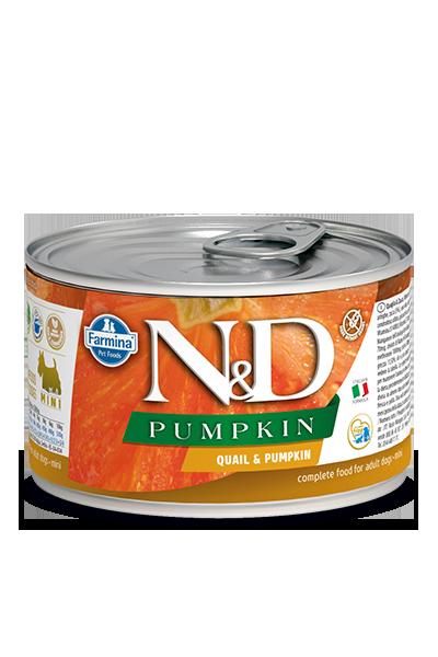 Farmina Natural & Delicious Pumpkin, Quail & Pomegranate Wet Dog Food, 4.9-oz