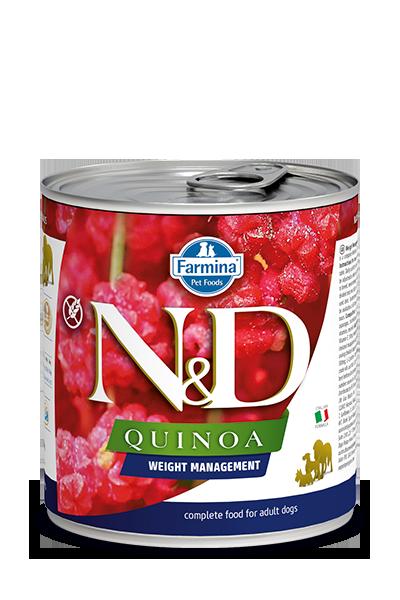 Farmina Natural & Delicious Quinoa Weight Management Lamb Wet Dog Food, 10-oz