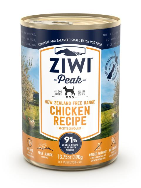Ziwi Dog Peak Chicken Recipe Canned Dog Food, 13.75-oz