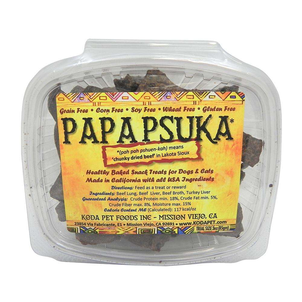 Koda Pet Papa Psuka Natural Beef Dog Treats
