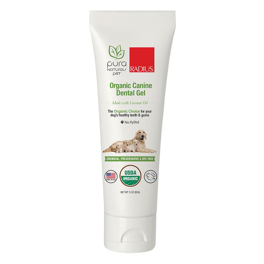 Pura Naturals Organic Dog  Dental Gel