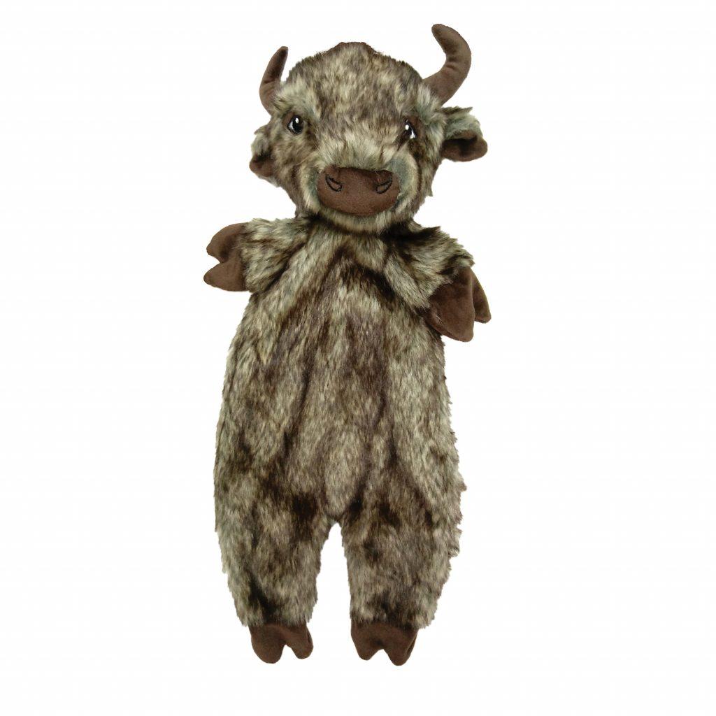 Ethical Pet Spot Furzz Buffalo Dog Toy