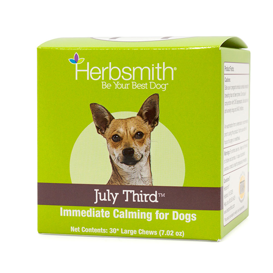 Herbsmith July Third Calming Aid Dog Chews