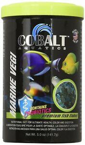 Cobalt Marine Veggie Flakes Fish Food