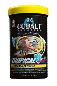 Cobalt Aquatics Premium Tropical Flakes Fish Food