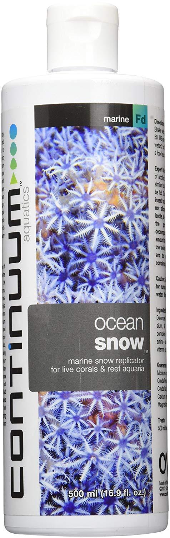 Continuum Ocean Snow Liquid Coral Food