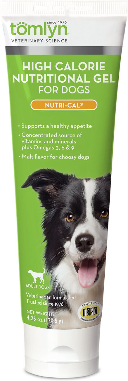 Tomlyn Nutri-Cal High-Calorie Dietary Dog Supplement, 4.25-oz tube
