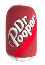Lulubelles Power Plush DR Pooper Dog Toy, Small