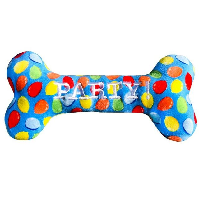 Lulubelles Power Plush - Blue Party Time Bone