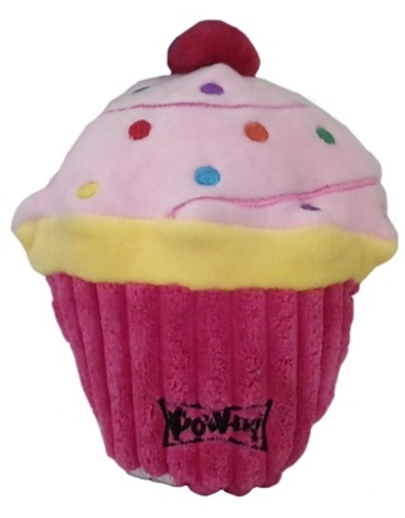 Lulubelles Power Plush Pink Pup-cake Dog Toy, Small