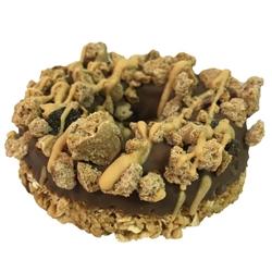 K9 Granola Factory - Carbon Peanut Butter Crunch Gourmet Doughnut