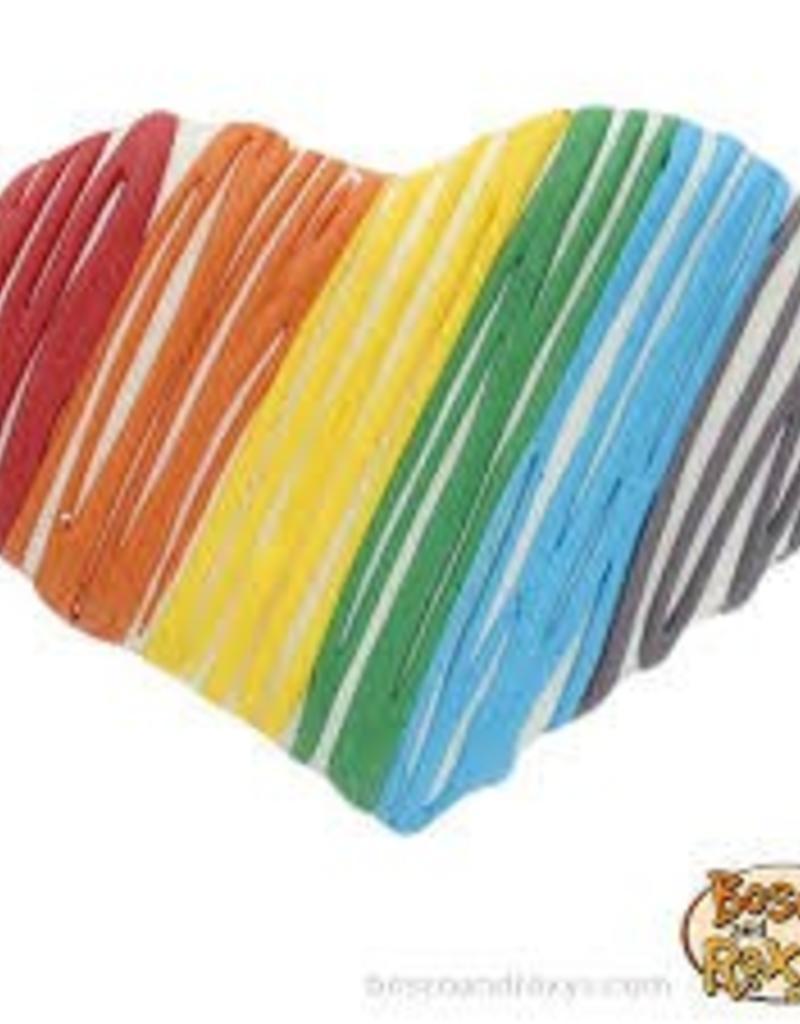 Bosco & Roxy's - A Dog's Life Pride Rainbow Heart