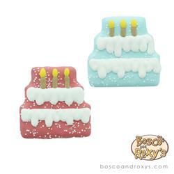 Bosco & Roxy's - Blue Birthday Pawty Three Tier Cake
