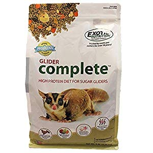 Exotic Nutrition Complete Sugar Glider Food, 5-lb