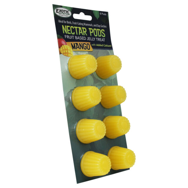 Exotic Nutrition Mango Nectar Pods Small Animal Treats