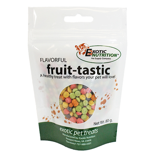 Exotic NutritionFlavorful Fruit Tastic Exotic Pet Treats, 80-g