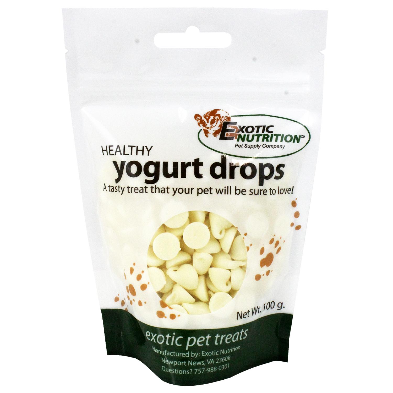 Exotic Nutrition Healthy Yogurt Drops Exotic Pet Treats, 100-g
