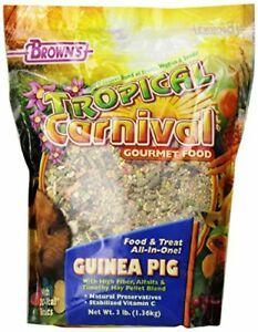 Brown's Tropical Carnival Guinea Pig Food