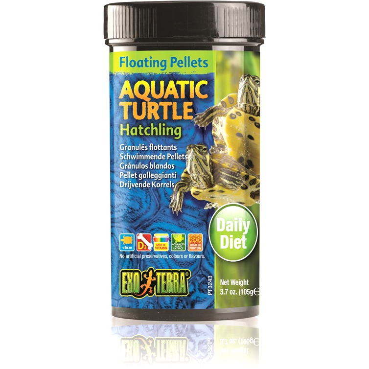 Exo Terra Floating Pellets Hatchling Aquatic Turtle Food