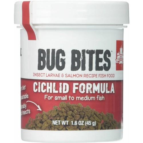 Fluval Bug Bites Cichlid Formula for Small-Medium Fish 1.6-oz