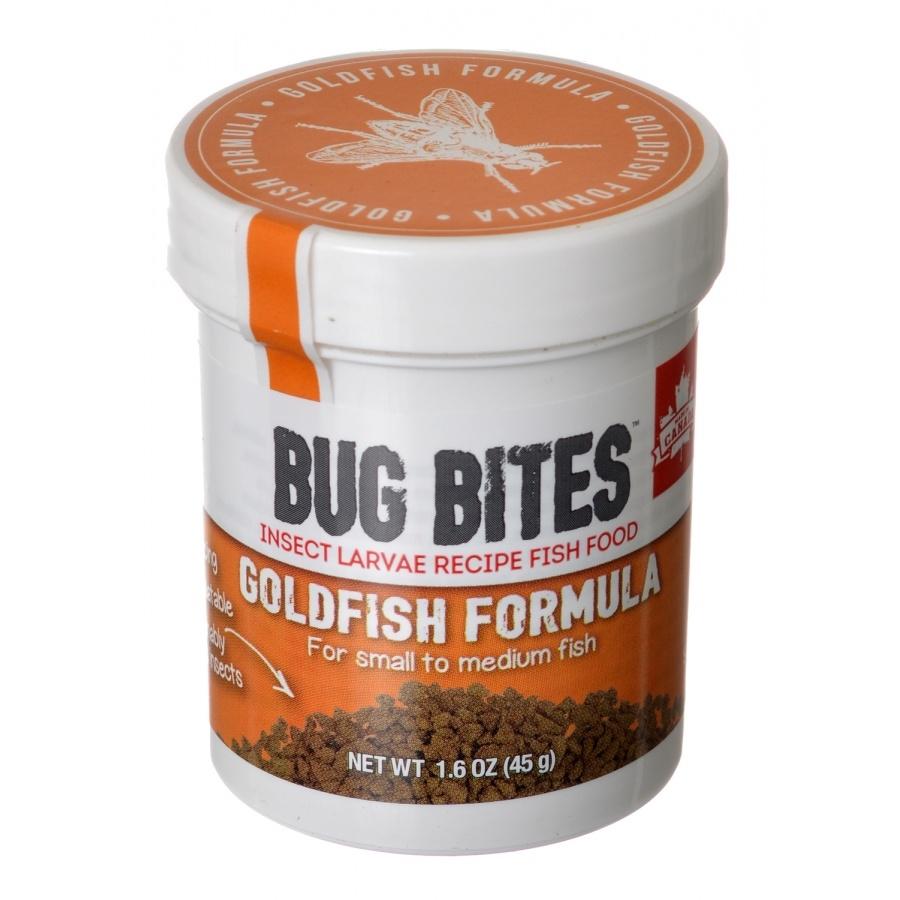 Fluval Bug Bites Goldfish Formula Fish for Small-Medium Fish 1.6-oz