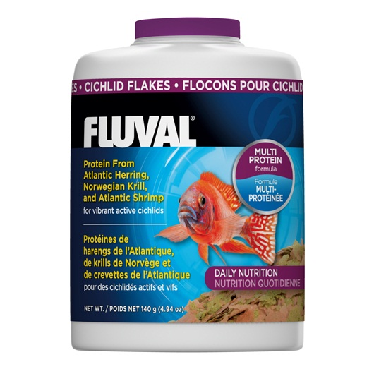 Fluval Cichlid Flakes Fish Food