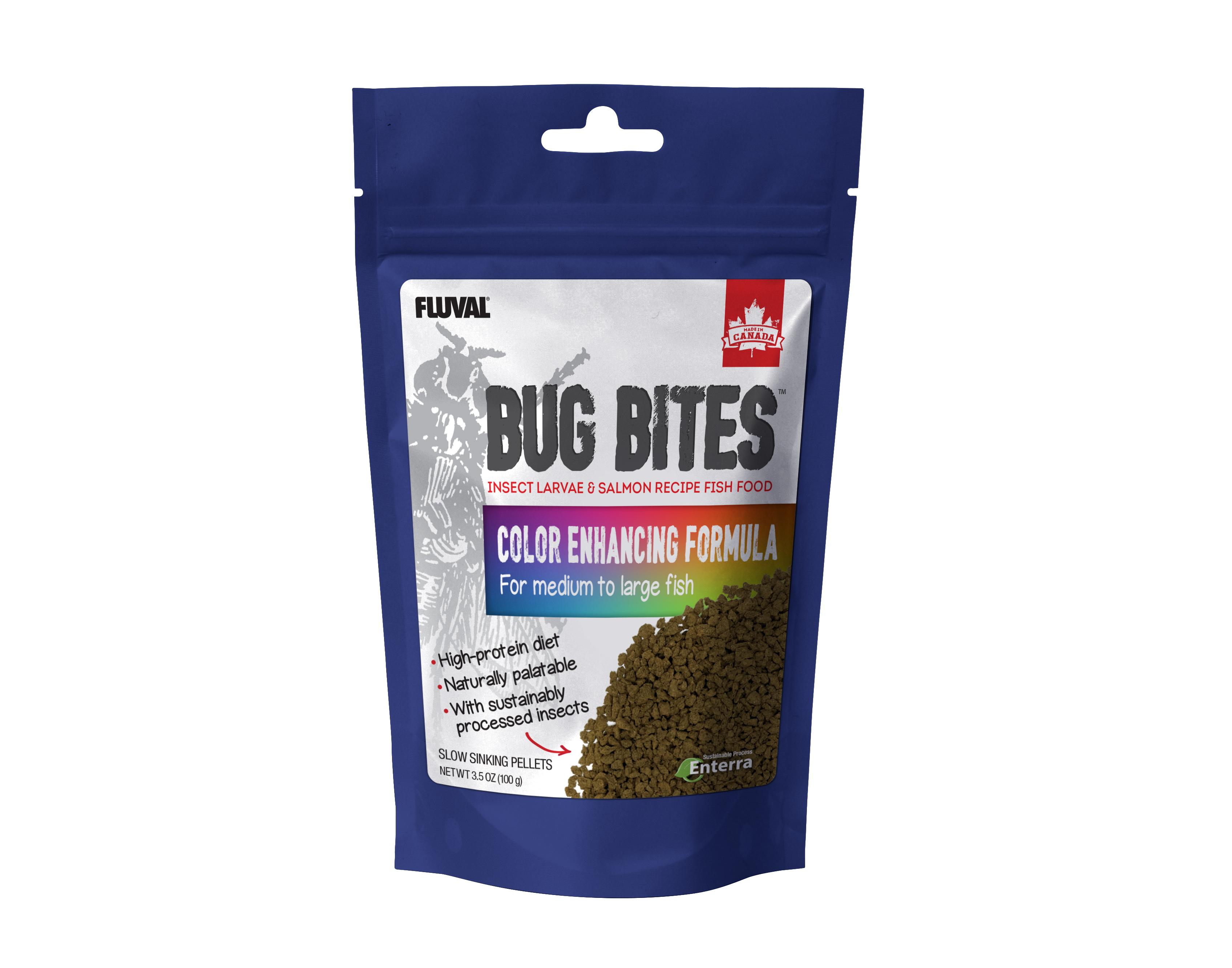 Fluval Bug Bites Color Enhancing Formula