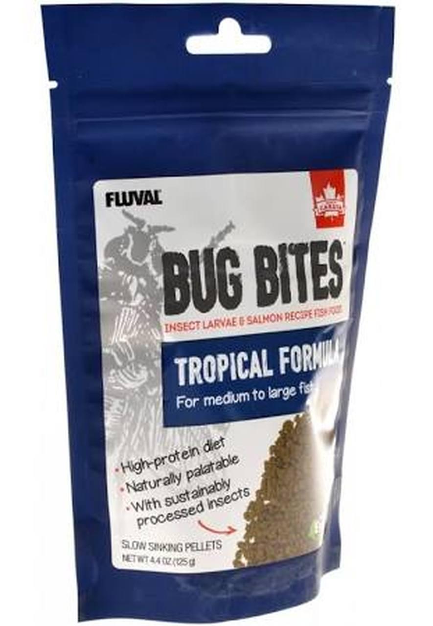 Fluval Bug Bites Tropical Formula for Medium-Large Fish