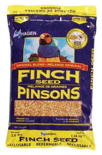 Hagen Finch Staple VME Seed, 3-lbs