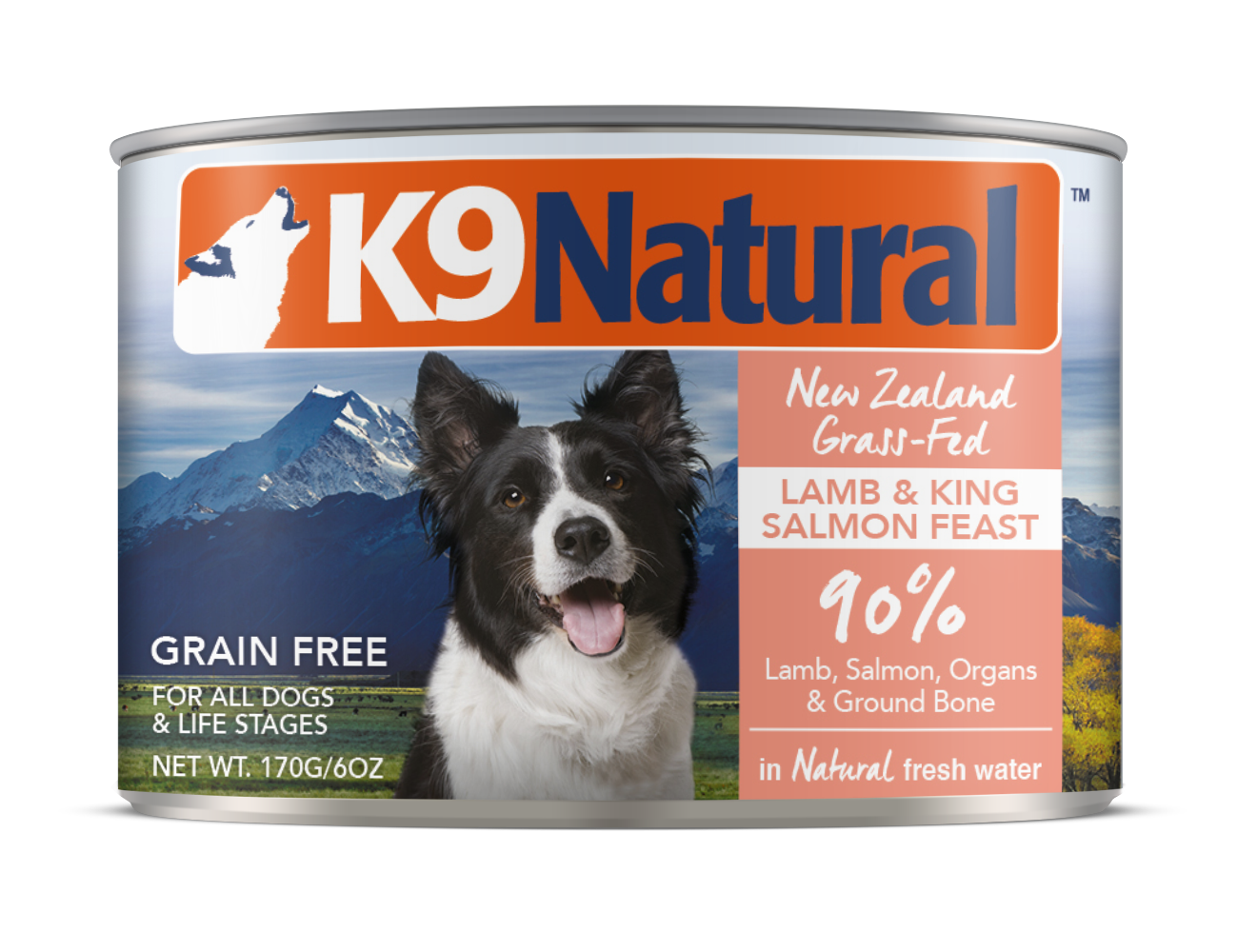 K9 Natural Lamb & Salmon Feast Grain-Free Wet Dog Food