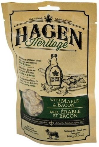 Hagen Heritage Maple & Bacon Dog Treats, 3.5-oz