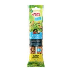 Living World Canary Sticks Vegetable Flavor, 2-oz