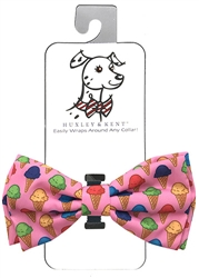Huxley & Kent Single Scoop Dog Bow Tie, Small
