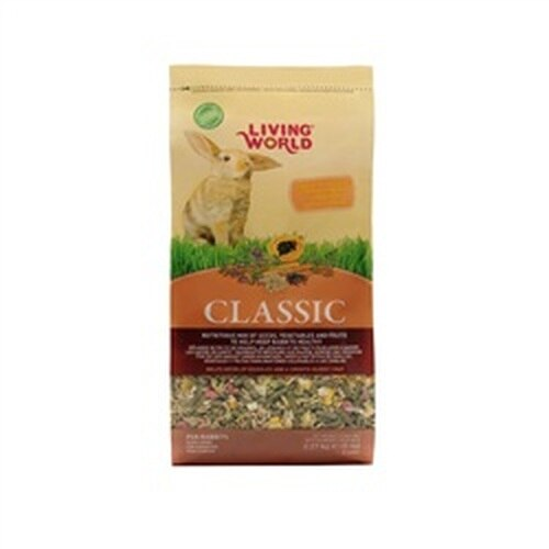 Living World Classic Rabbit Food, 5-lbs