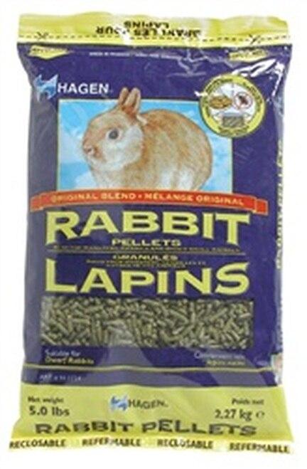 Hagen Rabbit Pellets, 5-lbs