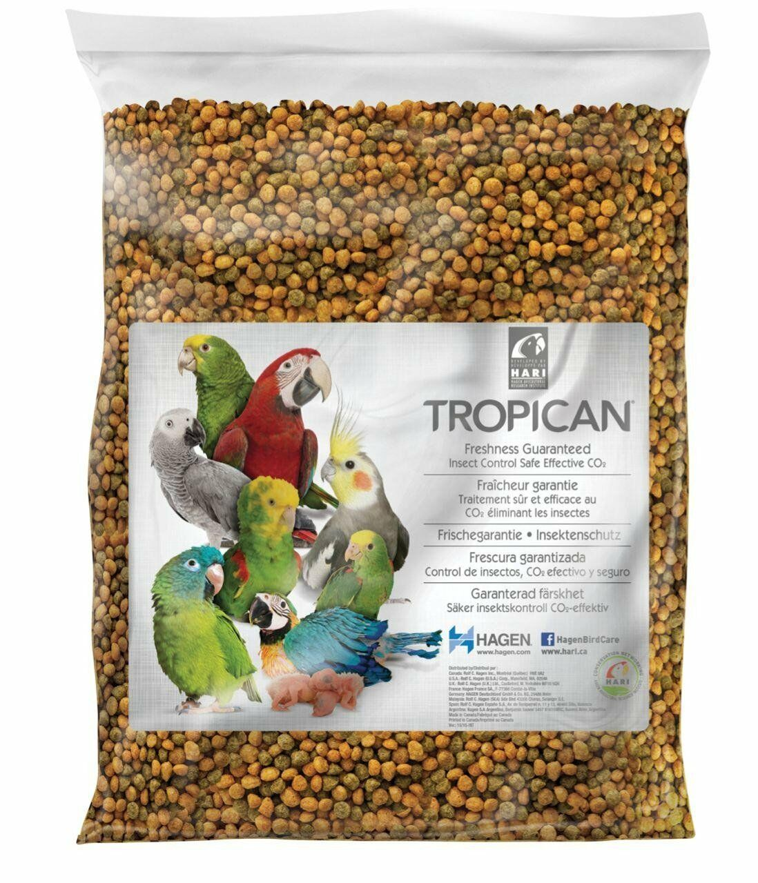 Hari Tropican Lifetime Formula Granules for Parrots